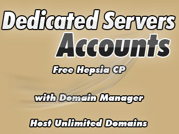 Half-priced dedicated web hosting provider